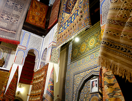 carpets in fes